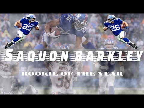 Saquon Barkley: ROOKIE OF THE YEAR  (Mini-Movie)
