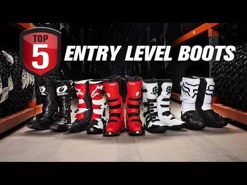 Top 5 Entry-Level Motocross Boots