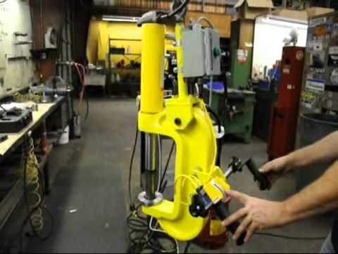 Enerpac King Pin Press Youtube