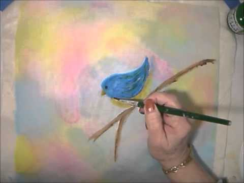 Painted Art Quilt Part 2
