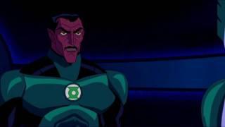 Green Lantern First Flight hal jordan got setup
