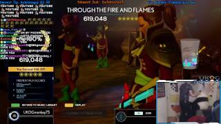 THROUGH THE FIRE AND FLAMES ~ 100% FC ~ ROCK BAND 4 ~ 1ST EVER!!!