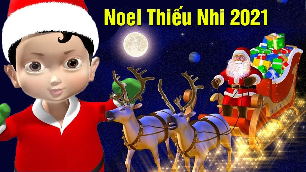 Nhạc Thiếu Nhi - Nhạc Noel Thiếu Nhi 2021 - Nhạc Giáng Sinh Cho Bé Nghe Vui Chơi 2021