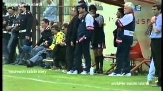 BENEVENTO CROTONE 1 a 0 del 26 aprile 1998 da bordo campo