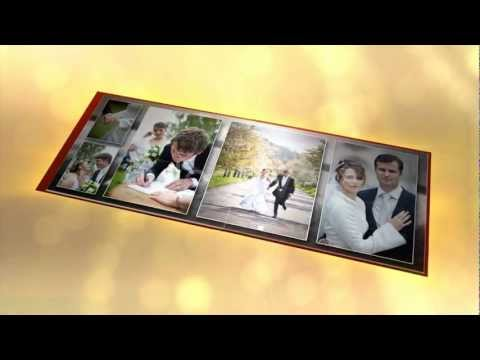 3D Wedding Photo Album - After Effects project