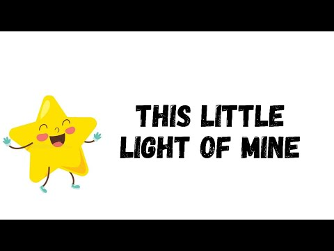 HERITAGE KIDS - THIS LITTLE LIGHT OF MINE (Let It Shine) (Lyric Video)