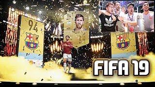 MESSI EN UN SOBRE DE FIFA 19 !!