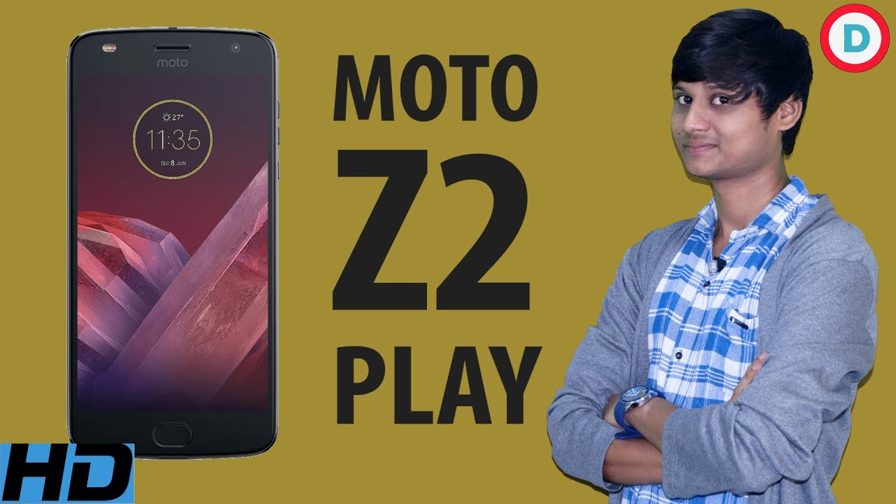 Moto Z2 Play Gets Unveiled In India, Snapdragon 626 In Tow