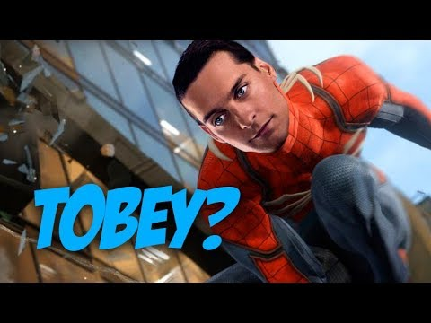 EASTER EGG: Tobey Maguire!!!  SpiderMan PS4