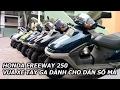 Honda Freeway 250cc vua xe tay ga dành cho dân ch?i có s? má