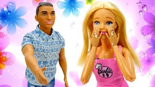Barbie et Ken se sont disputés. Vidéo pour enfants.