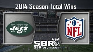 New York Jets Season Win Totals: NFL Picks