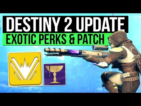 Destiny 2 | Hidden Exotic Perks, New Patch Inbound, Loot Based Matchmaking Rumour & More!