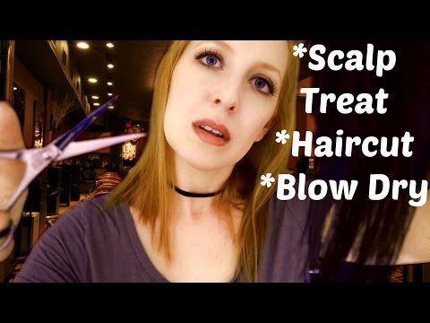 ASMR Hair Extensions/Haircut
