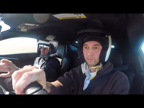 The Acura NSX Experience with Pro Driver Julien Penaruiz **Drifting in the Mojave Desert!