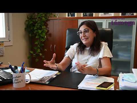 """VÍDEO   Entrevista a Ana Villarino: """"Parcelas máis grandes e transformación, claves para o futuro da horta de Oímbra"""""""