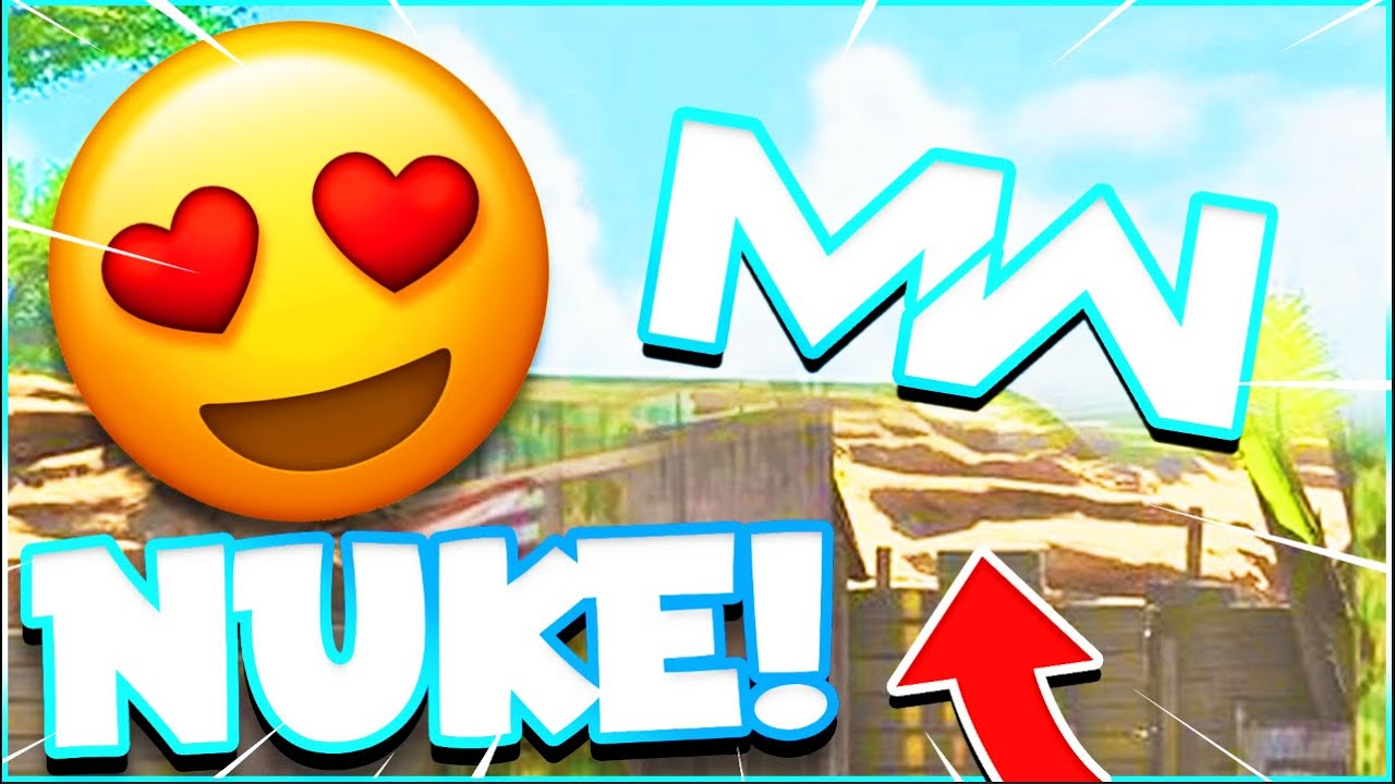 MODERN WARFARE TACTICAL NUKE (NUKE GAMEPLAY)
