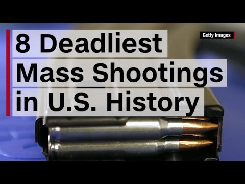8 Deadliest Mass Shootings In U.S. History