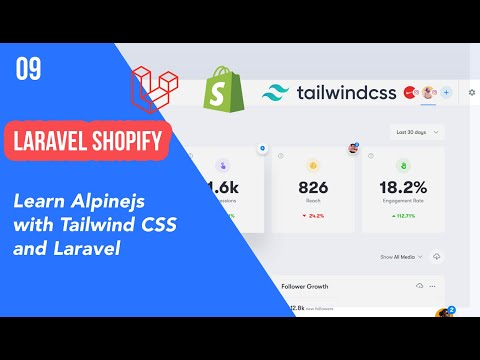 09 - Learn Alpinejs With Tailwind Cssand Laravel