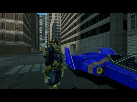 A Day in the Life of Captain Falcon