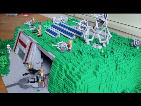 lego star wars deutsch widerstands basis im detail youtube. Black Bedroom Furniture Sets. Home Design Ideas