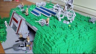 LEGO Star Wars Deutsch Widerstands Basis - Im Detail