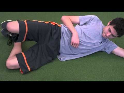 Hip Clamshell Exercise progression