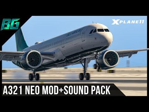 11K Sub Special!! Airbus A321 NEO Mod + Sound Pack (KIAD-KATL) VATSIM | XP11