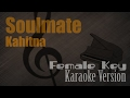 Kahitna - Soulmate (Female Key) Karaoke Version | Ayjeeme Karaoke