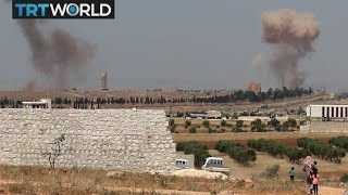 The War in Syria: Regime air strikes killing people in Idlib