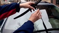 HOW TO replace wiper blades on a LEXUS RX 330