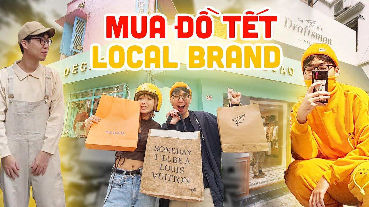 1 TRIỆU 5 MUA QUẦN ÁO TẾT toàn Local Brand | ft. Mây Bồng Bềnh