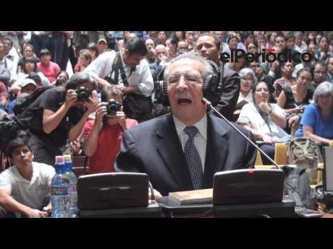 Declaraciones de Ríos Montt en juicio por genocidio / Video I
