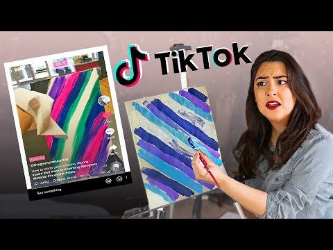 Exploring TikTok's Art World...