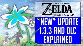 Cemu 1.11.0 |  Breath of the Wild | Update 1.3.3 & DLC Explained