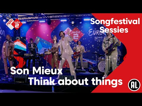 Son Mieux speelt cover 'Think About Things'   NPO Radio 2