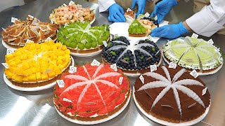 Красочный! Фруктовый пирог в ограниченном количестве с 6 видами фруктов