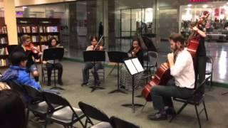 Megha's violin event