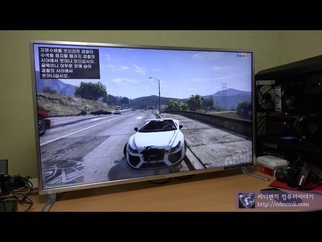 ????? UHD430 REAL4K HDMI 2.0 GTA5 ??