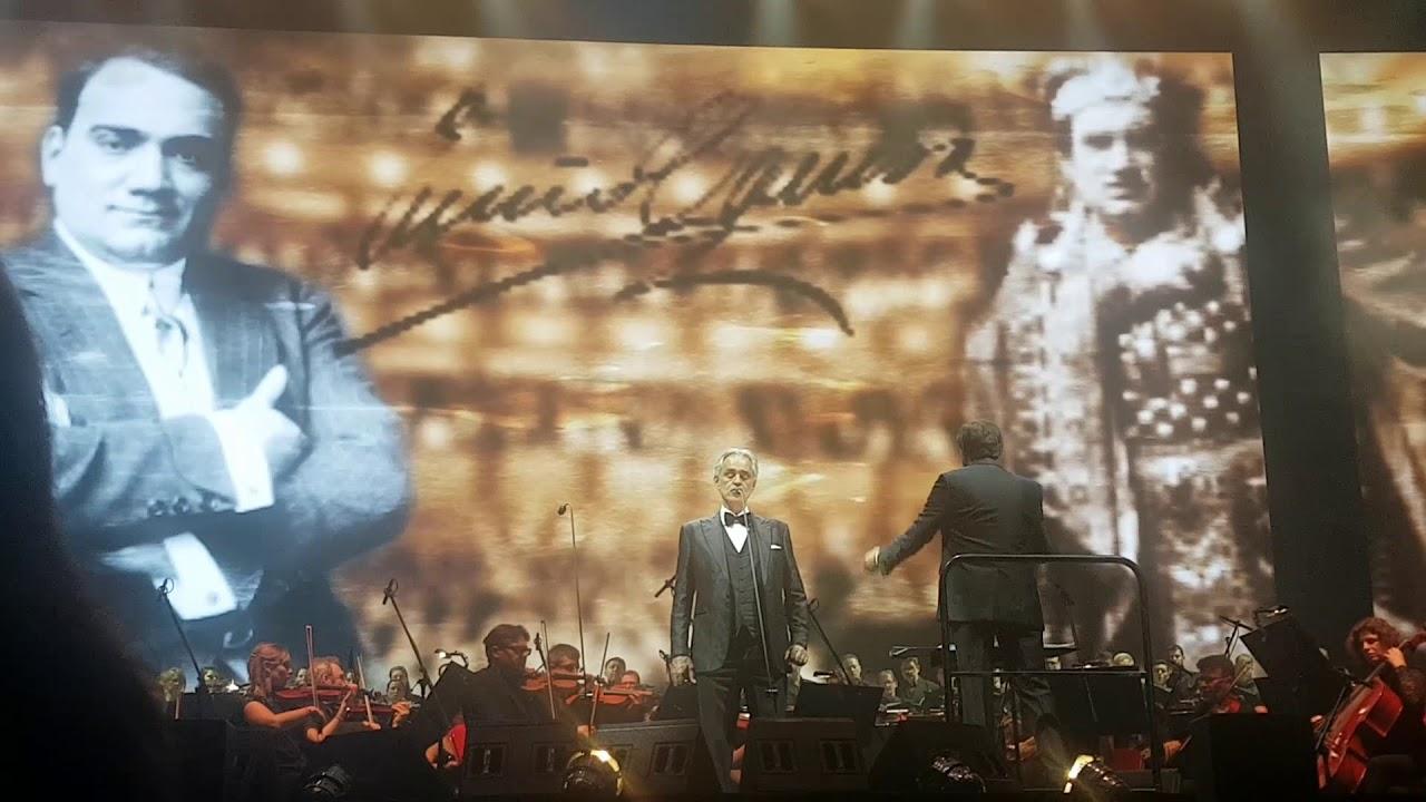 Andrea Bocelli - O Sole Mio - Budapest - 2019.11.17.