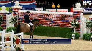 William Whitaker & Leonardo 059 - Gara di Potenza salto ostacoli - Puissance