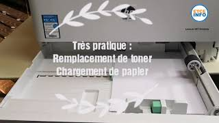 Unboxing and test du photocopieur HP M436nda