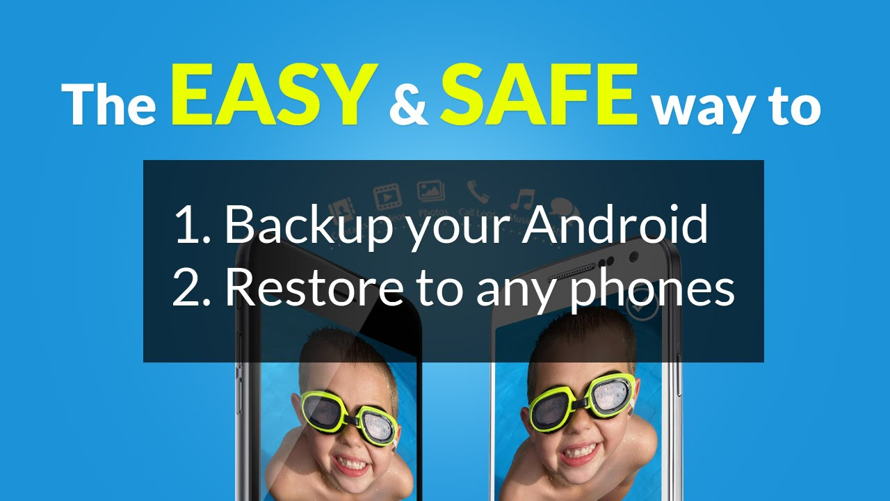 How to Back up your Android and Restore to Any Android Device or iOS Device