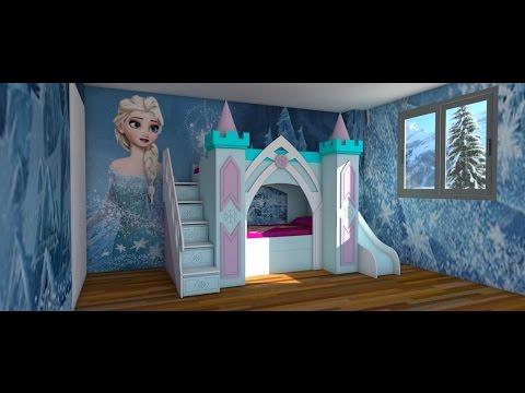 FROZEN BEDROOM MAKING ROOM FOR CHILDREN  YouTube