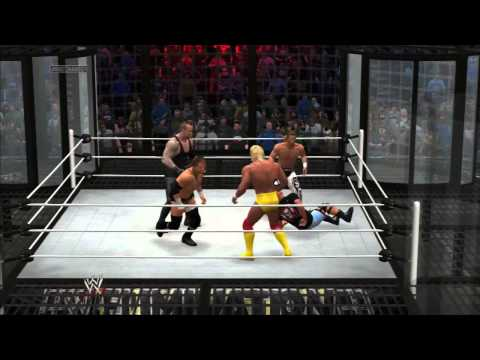 WWE 2K14 ONLINE: HBK, TRIPLE H, THE...