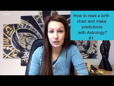 How To Read A Birth Chart And Make Predictions With Astrology #1