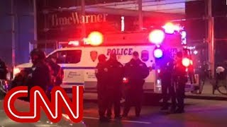CNN's NY offices evacuated over bomb threat