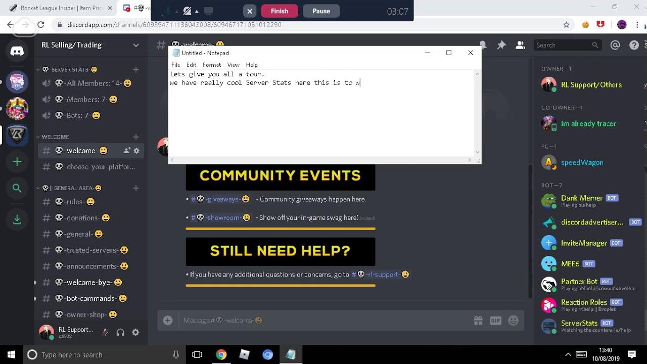 Announcement Bot Commands