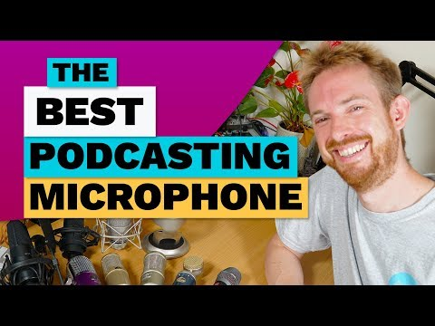 The Best Podcasting Microphone with Audio Tests