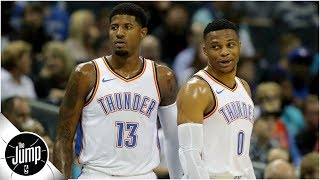 Russell Westbrook taking a back seat is making Paul George better - Tracy McGrady l The Jump